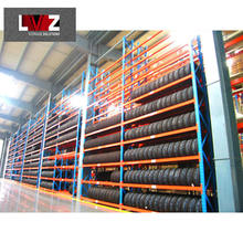 Industrial storage rack heavy duty warehouse metal shelving selective heavy duty pallet rack system