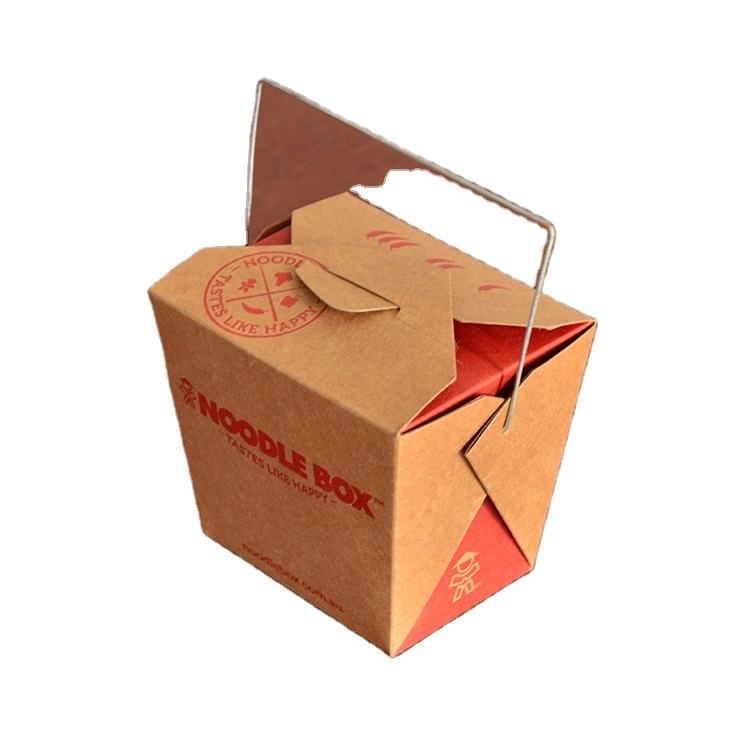 single ply china paper eco friendly moving fast food packing boxes cardboard