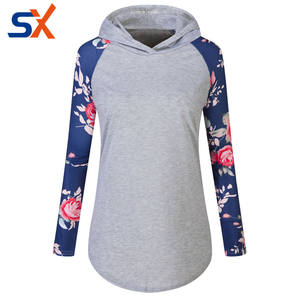 Sweat-shirts à capuche femmes sweat extra longue