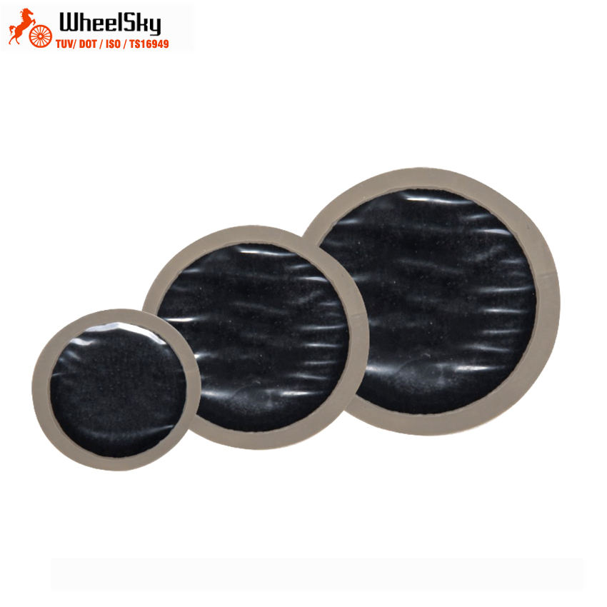 Wheelsky Universal Round Rubber reinforced Radial Bias Vulcanizing Repair Tire Patches