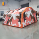 YUQI factory Large outdoor medical rescue inflatable tent field command fire disaster relief flood relief emergency relief tent