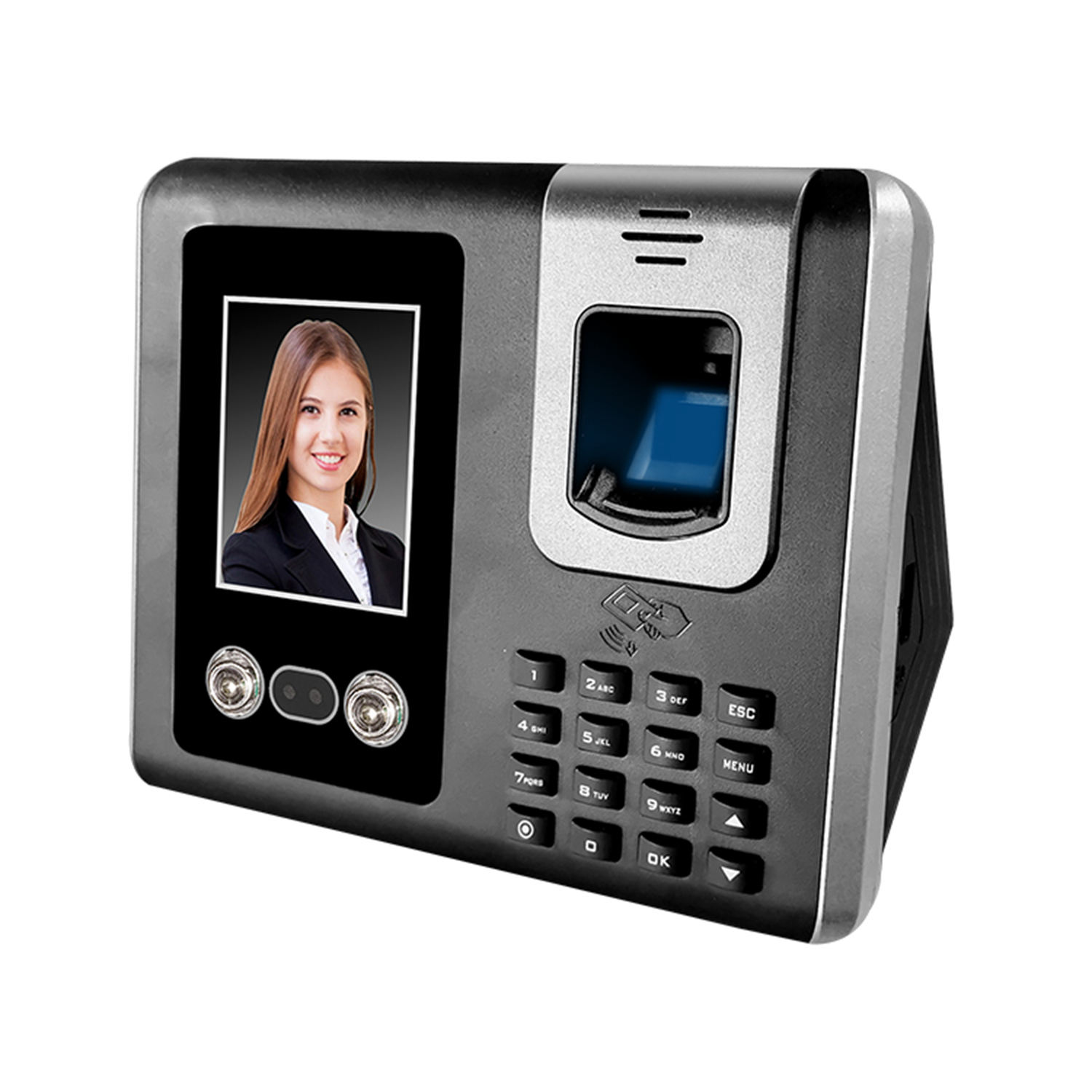 SIM Card Cloud Software Biometric GPRS 3G WiFi Face Recognition Attendance System