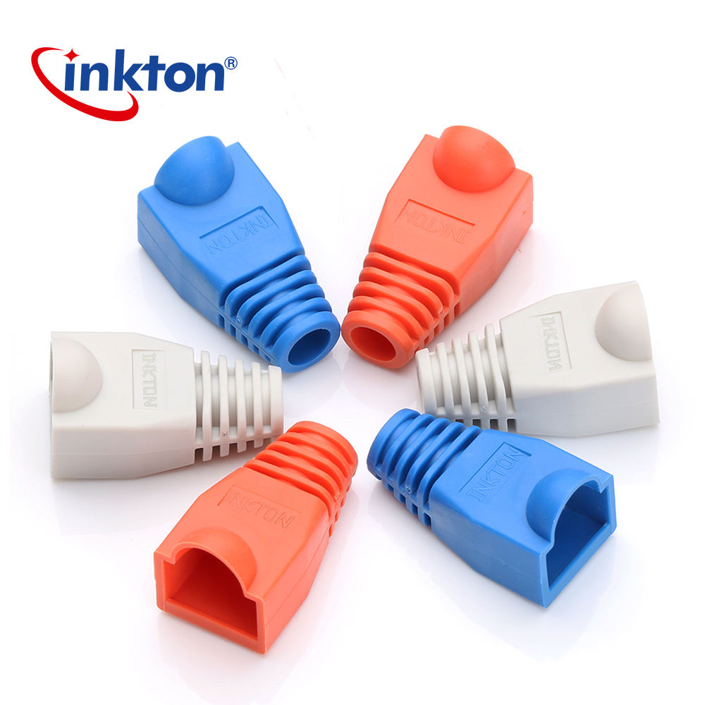 Colorful RJ45 Boot Cap for RJ45 modular plug High Quality Dust Socket Boot Caps RJ-45 Adapter For 6mm Network Connector