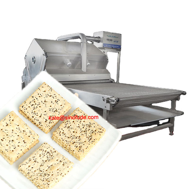 biscuit making machine price Oil Spraying Machine with Oil Mist Collection System Centrifugal Disc-Type Oil Sprayer for Biscuit cookies Baking Equipment