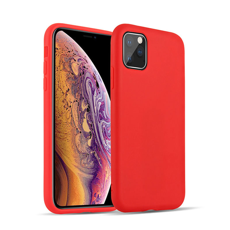 Custom LOGO liquid Silicone Back Covers for A30 A51 A71 S20 Shockproof Rubber Gel Cell Phone Case For iPhone X 11 Coque