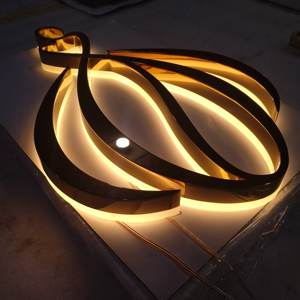 Hot sale business logo door room led modules signage channel letters acrylic illuminated electronic sign