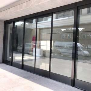 automatic type electric sliding glass door automatic door for mall