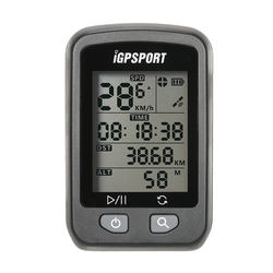 Rechargeable IPX6 Waterproof Auto Backlight Screen Bike Cycling Cycle Bicycle GPS Computer Odometer Y4491