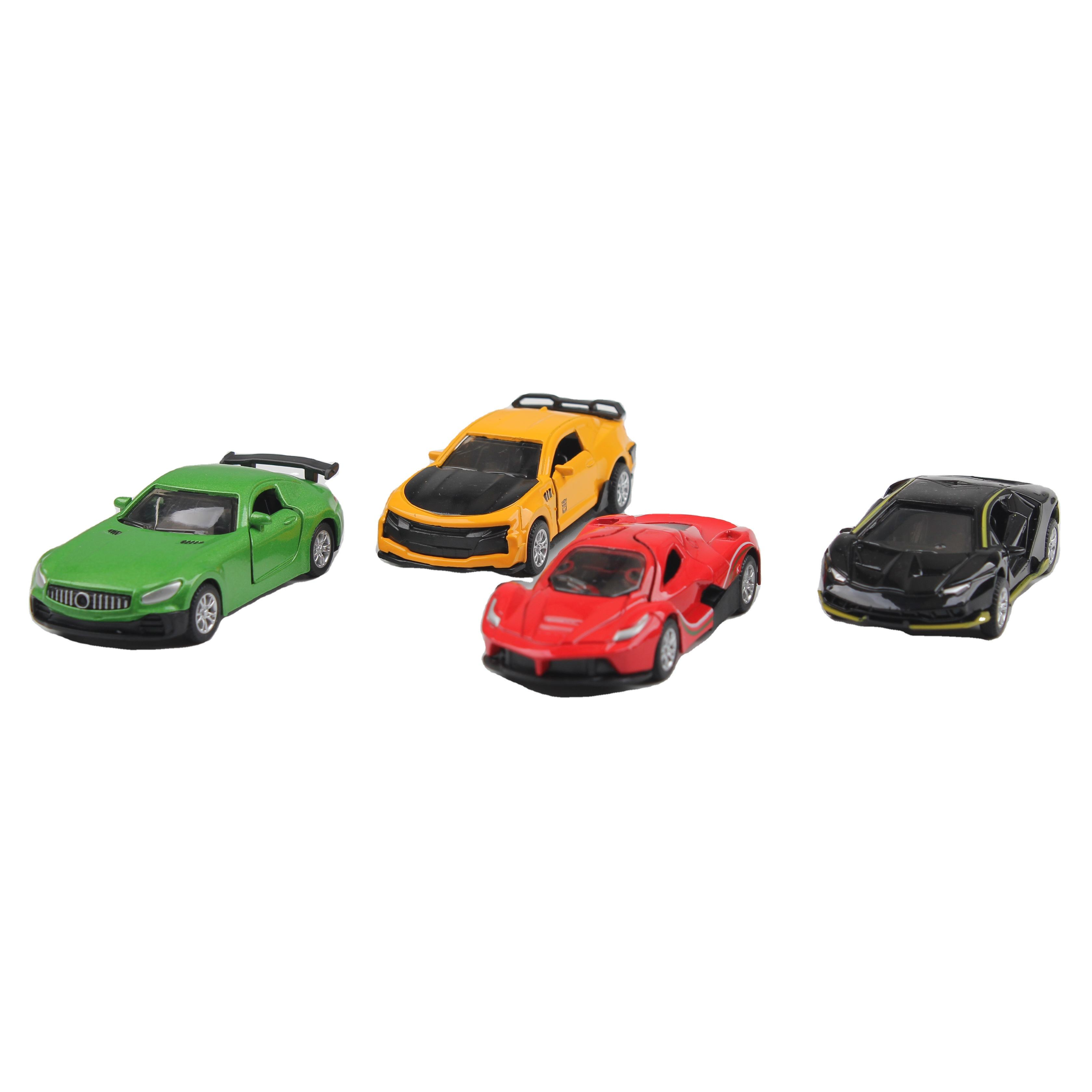 1/64 Hot Selling Sport Super Car Diecast Toys Mini Die Cast Pull Back Vehicle Toys