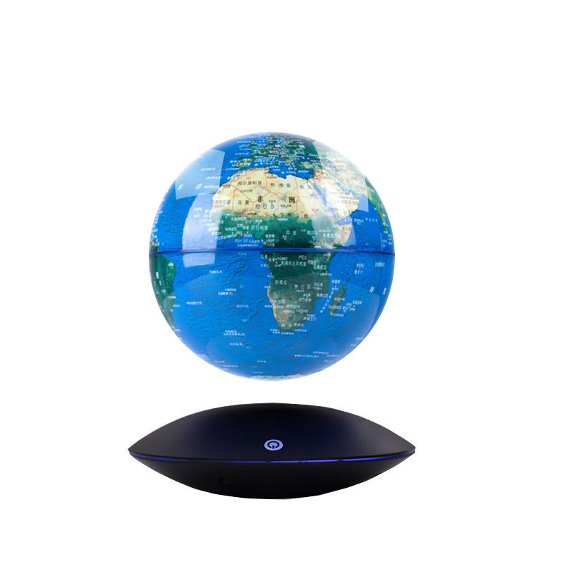 Large diameter floating globe and globe magnetic floating sever customize logo magnetic levitation floating globe