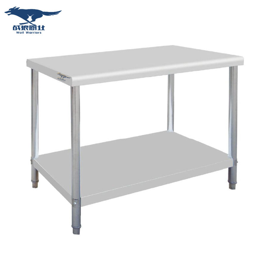 Hotel Restaurant Equipment Supplies Stainless Steel Work Table For Sale