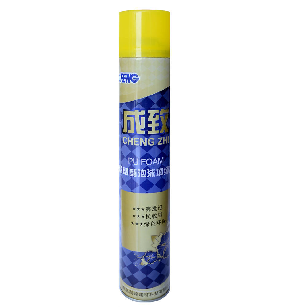 fire rated spray low expansion 750ml concrete yield expanding aerosol PU foam sealant Manufacturer from China