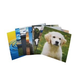 Cheap custom postcard printing photo paper cards printing picture card
