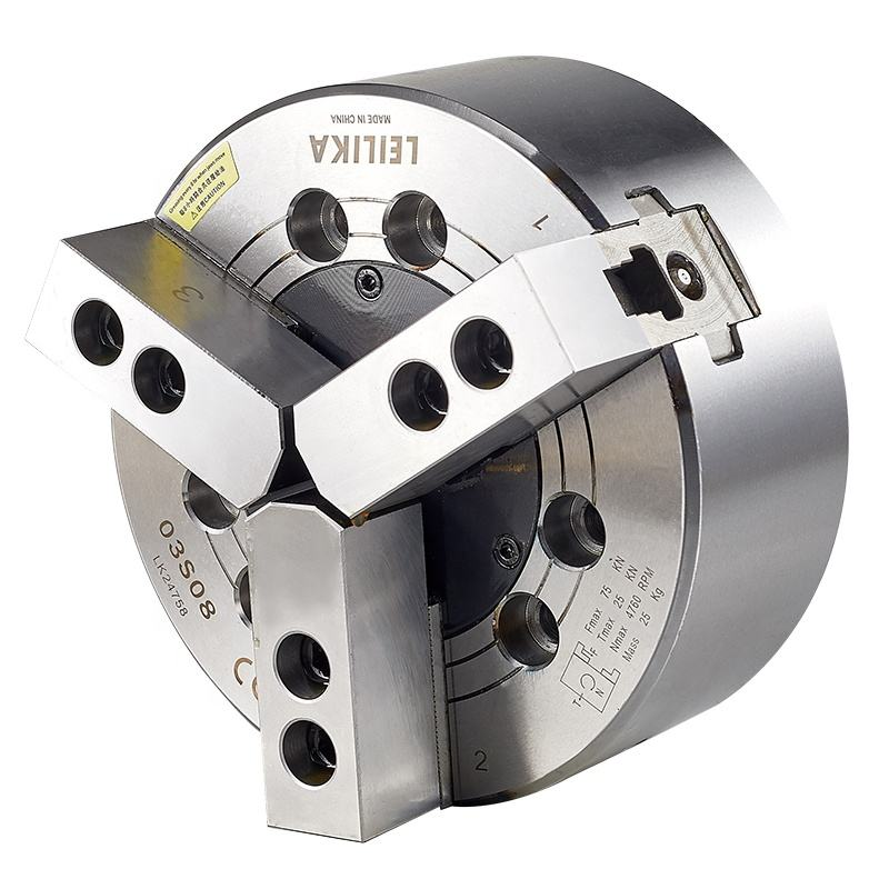 3 jaws Closed-Center Hydraulic Power Chuck