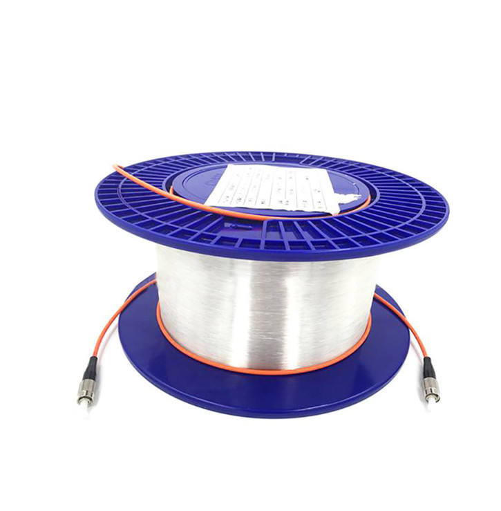 100 M/500 M/1Km Single Mode G657A1 FTTH OTDR Launch Cable Spool G.652d Kabel Fiber Optik spul