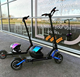 Minimotor Controller and full hydraulic brake 60V 24.5AH Electric scooter with double brushless motor 1000w *2