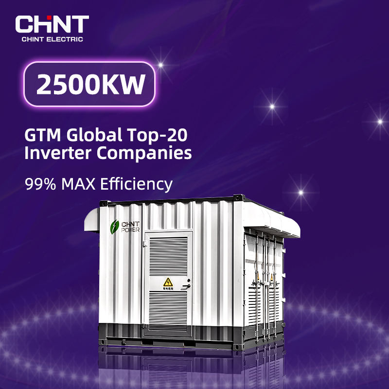 Chint Astronergy 2500Kw Suoer Pure Sine Wave Vmax Power Hybrid Inverter On Grid Batteryless