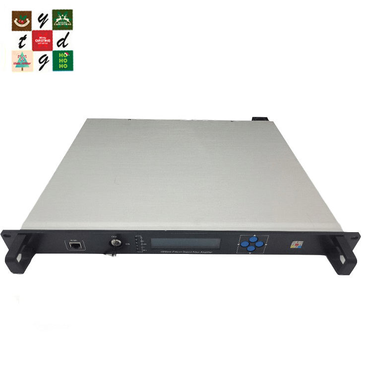 4*16.5dbm High Power CATV 1550nm EDFA - 1U chassis