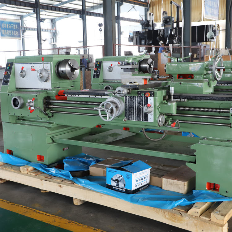 Factory Price Normal Metal Processing Manual Metal Lathe gap bed engine lathe machine