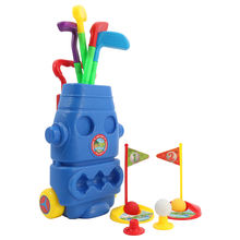 Huiye 2020 new arrival kids sport game outdoor golf toys set