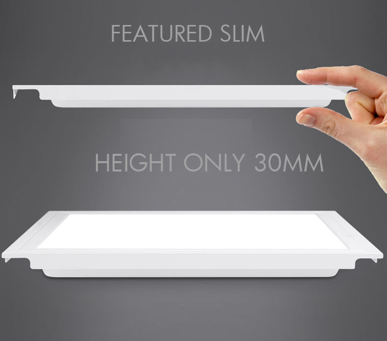 China smd 36w 40w 60x120 30x120 600x600 slim recessed surface mounted square flat office ceiling ugr19 led panel