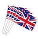 Professional supplier direct wholesale UK hand flag for all sport fan