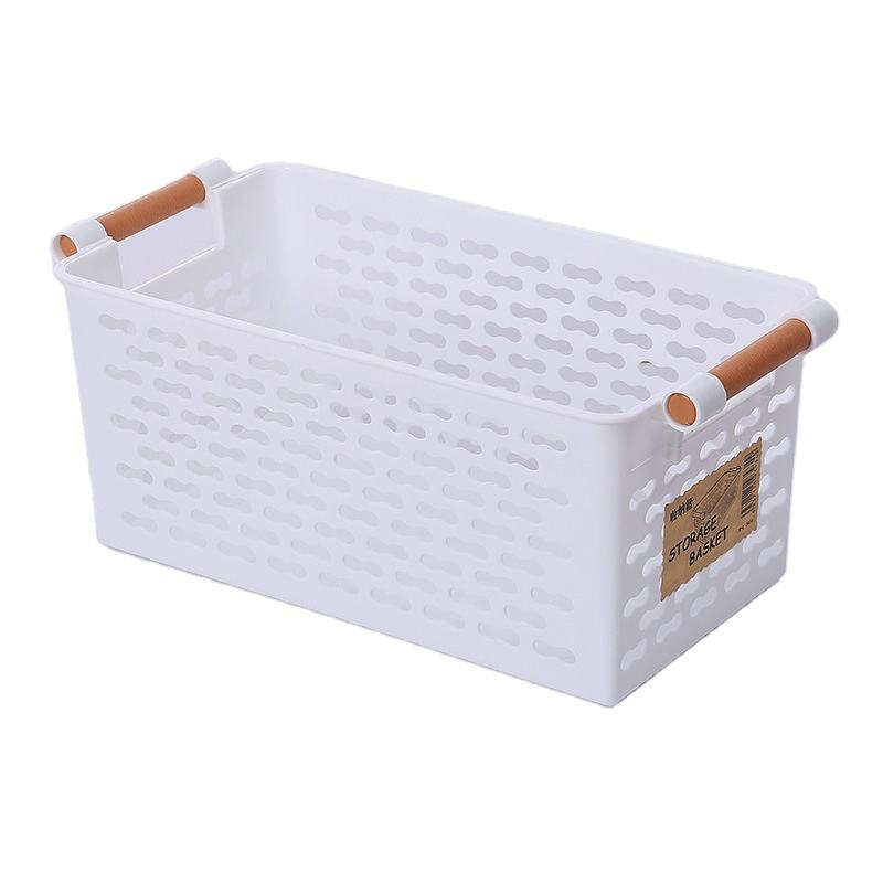 2020 Hot Sale Plastic Japanese storage Bathroom Desktop Cosmetics Small Storage Baskets