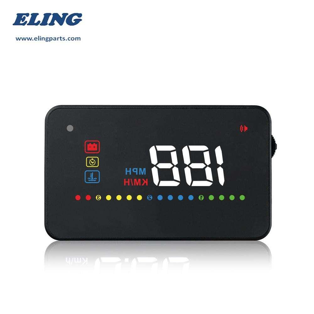 ELING Veloc/ímetro GPS para coche motocicleta barco 0-80mph 0-120km//h 9-32V 85mm