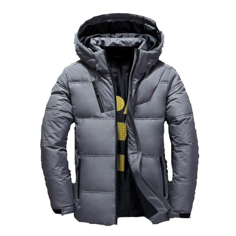 JACKETOWN 2020 Men's Winter Jacket Outdoor Sports Thick Warm Coat 4XL Men's Puffer Down Jacket