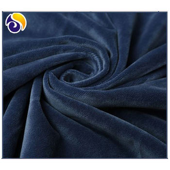 100%Polyester Knitted Micro Velboa/Super Soft Fleece Velvet Fabric