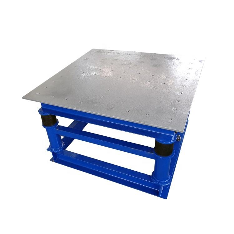 Vibration Table Electric For Concrete Moulds /Concrete Vibrating Table
