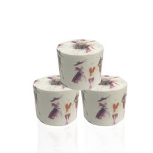 Bamboo toilet paper roll tissues 230 sheets antibacterial paper towel