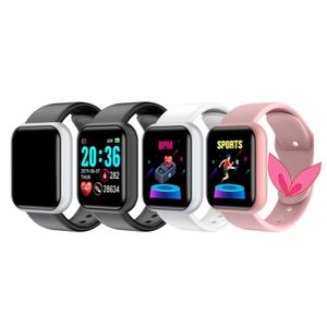 Smart Watch Y68 Reloj Inteligente Waterproof Heart Rate Blood Pressure Sports Wristband for IOS Android Phone Smartwatch D20