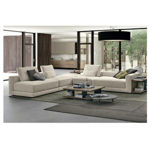 Italian Luxury Sofa Set Couch Living Room Furniture Sectional Couch Corner Sofa Cum Bed Set Leather Sofas Sectionals
