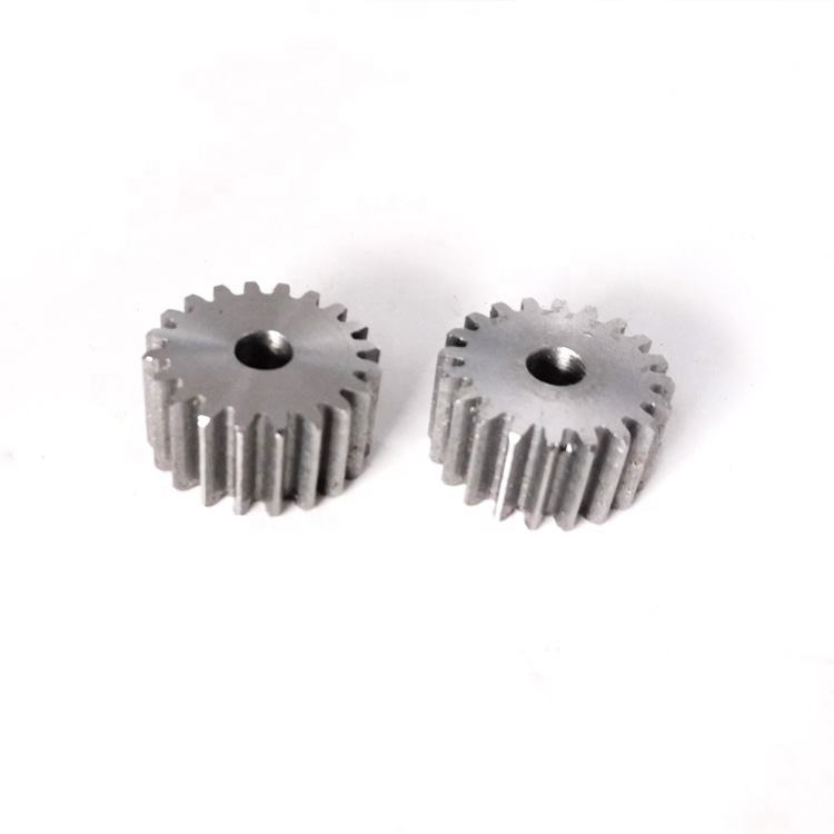 Shaoxing supplier top quality forging casting steel small ring and pinion gears for transmission parts