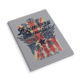 New 2021 arrival Soft PP American and England flag style with good quality notebook