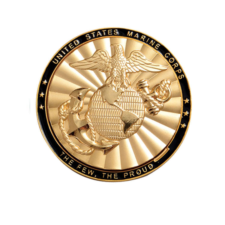 3D Brass Metal Antique Challenge Coin Coin