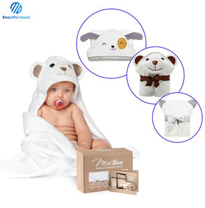 China factory best selling 100% bamboo infant baby hooded bath towel
