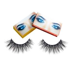 38# Hitomi Wholesale Hand Made False Eyelashes Make Your Own Lashes 3d 4d 5D 6d 9d Faux Mink Eyelashes