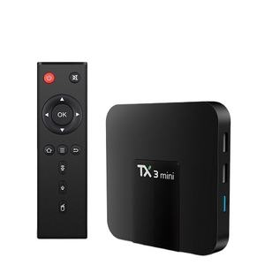 Latest Popular Cheapest TX3 MINI Android IPTV BOX real 4K UHD Amlogic S905W Android 9.0 TV Box