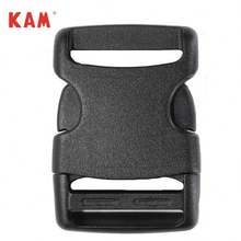 High Quality black recycled plastic Side Release bag strap Buckle