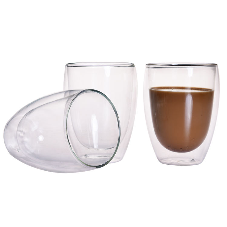 Borosilicate tumbler glass cupping set