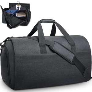 Bolsa Convertible para ropa, bolsa de viaje con compartimiento para zapatos, bolsa de lona impermeable