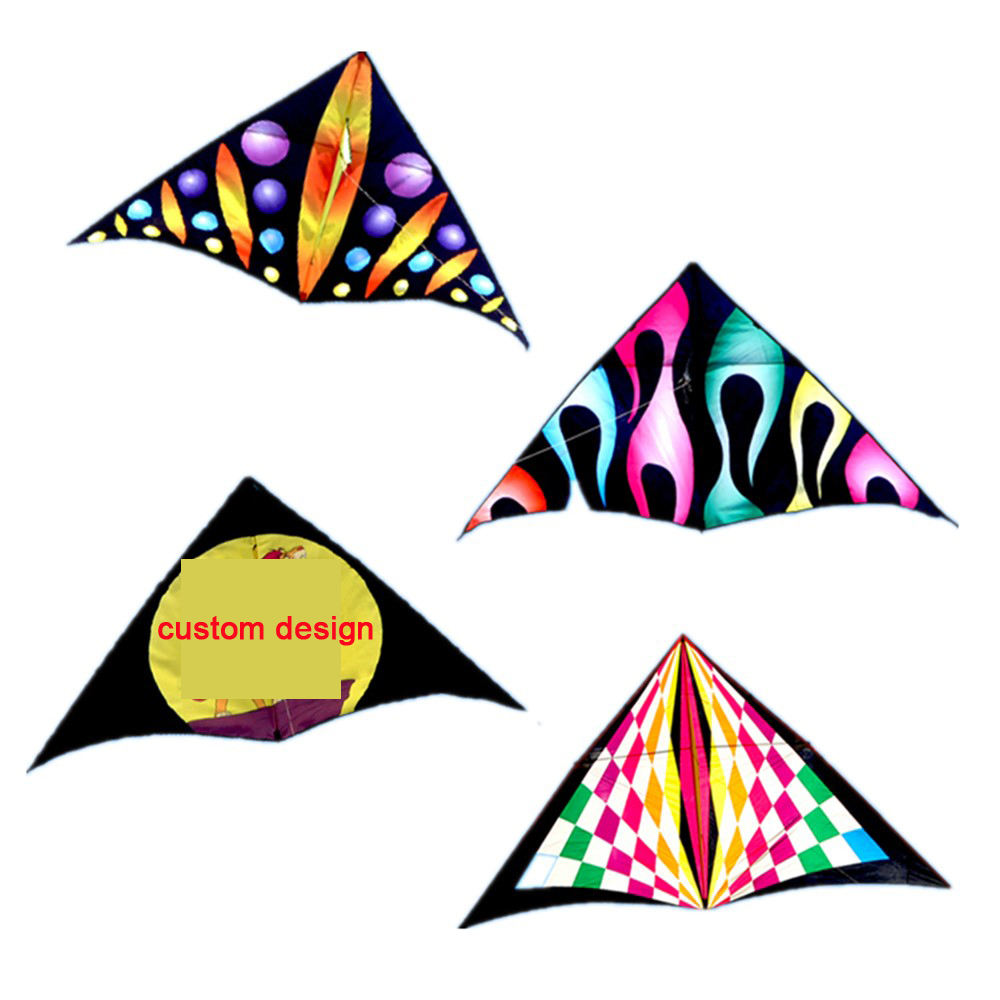 Easy flying colorful delta kite