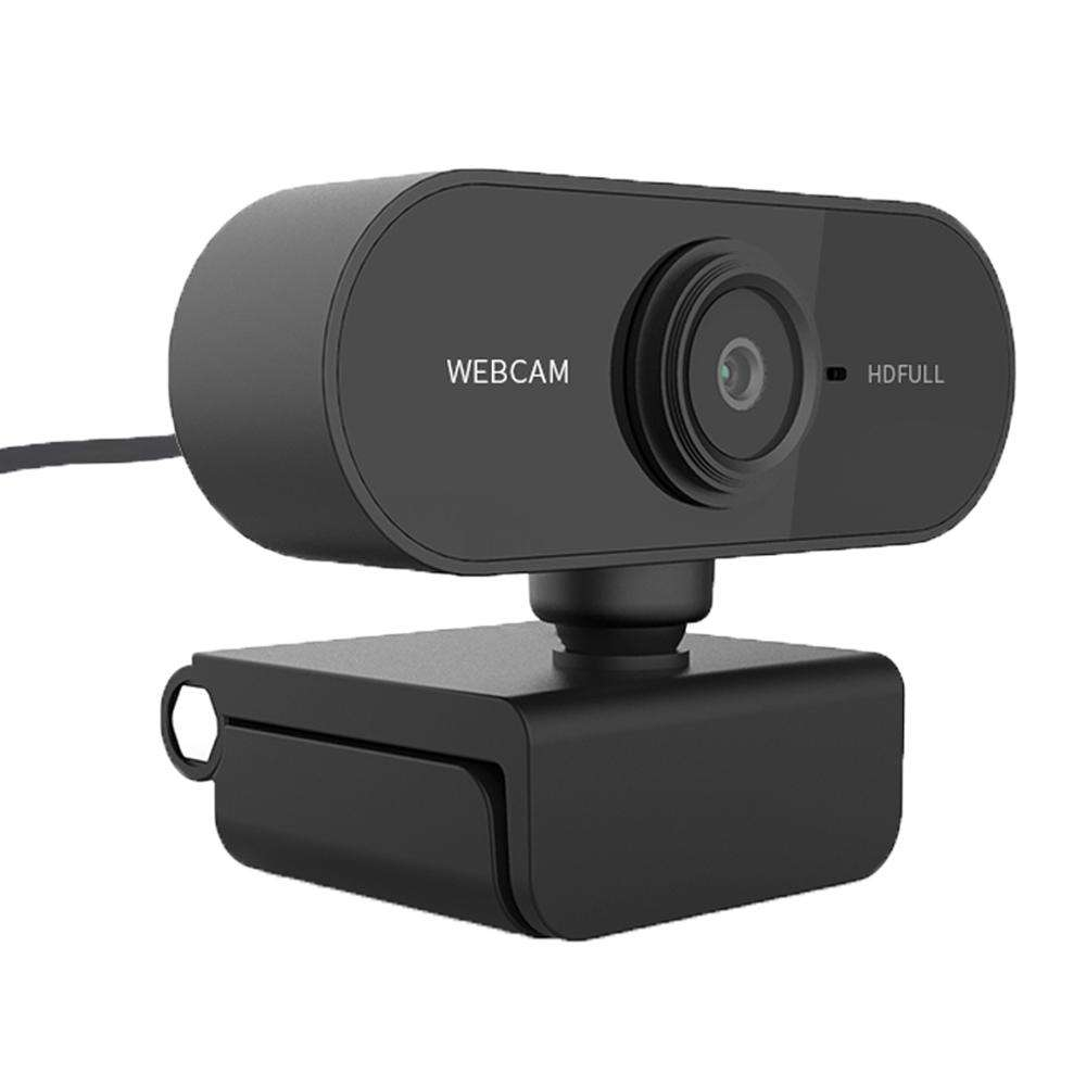 Webcam, 1080p 2k 4k full hd, câmera para web com microfone embutido, usb, web cam para pc computador mac laptop desktop youtube skype win10