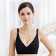 Wholesale clear stock with cheap price Cotton Pregnant Feeding Front Cross Shoulder Opening Soft Maternity Nursing Bra