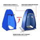 Pop Beach Hot Selling Pop Up Shower Tent Portable Changing Room Automatic Beach Privacy Tent For Outdoor