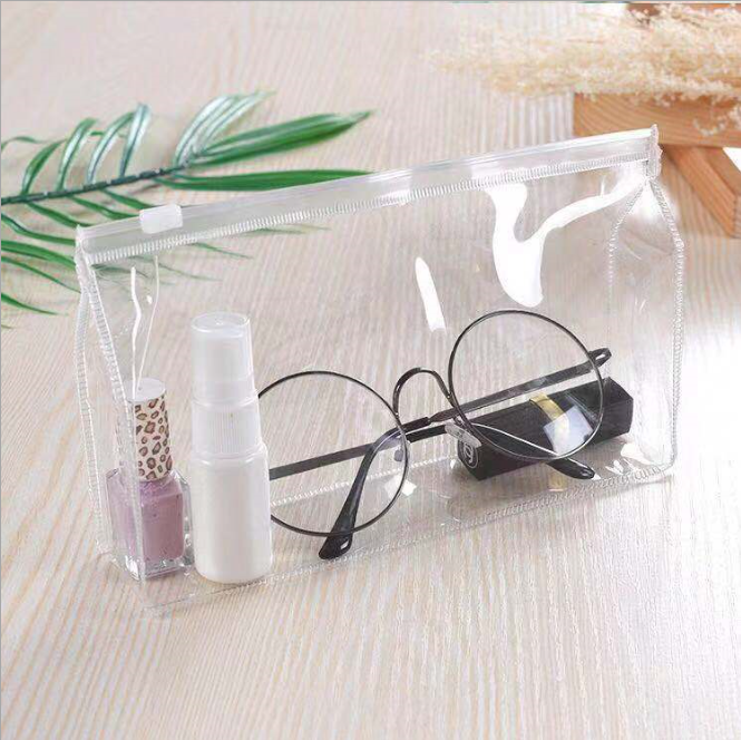 Transparent Bag Waterproof Clear PVC Cosmetic Bag /Travelling Package Bag