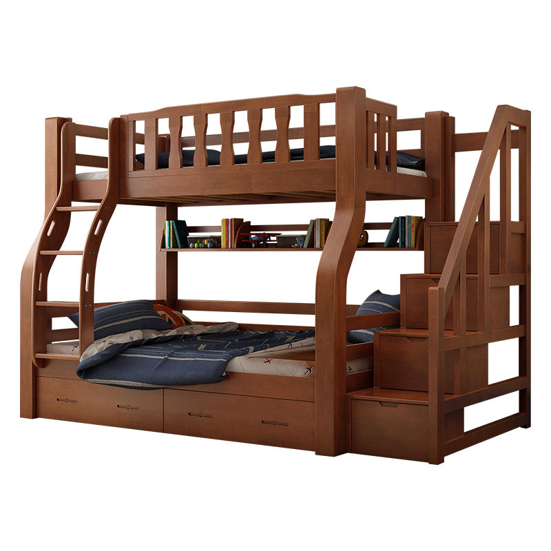 Lowest Price Kids Bedroom Furniture Solid Wood bunk bed Children Bunk Bed for Kids