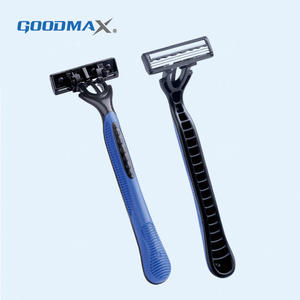 Cheap Triple Blade Plastic Personal Care Travel Hotel Disposable Manual Shaving Razor
